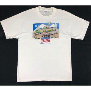 Jeep Jamboree USA Vintage GraphicT Shirt Men's L